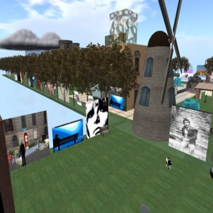 Gabriella Ferri in Second Life