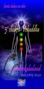 Grande serata sul 5° chakra della  comunicazione (o Vishuddha)