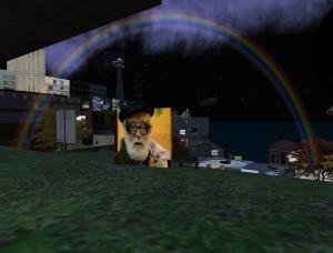 Terenzio Formenti, l'arcobaleno della notte