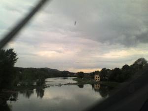 L'Arno, arrivando da Roma