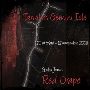 Red Drape, di Giulia Janus