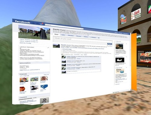 Connettersi a Facebook in Second Life è possibile, con SL 2.0