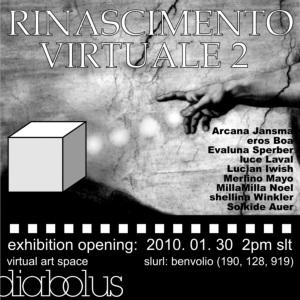 Rinascimento Virtuale 2 - Opening