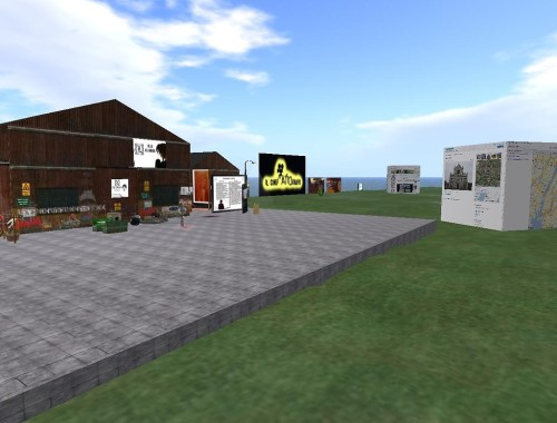 Second Life Shared Media (SLSM) at Art&Mente Studios