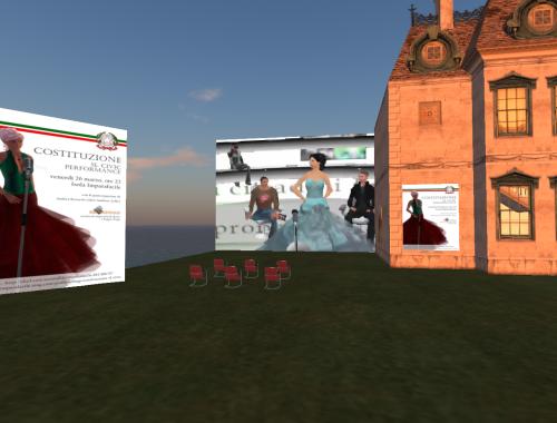 Costituzione Italiana in Second Life, vista da Rodasia