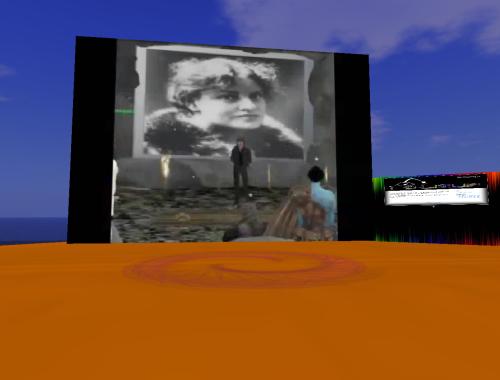 Il bagliore del desiderio, video inworld a Rodasia