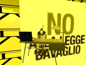 NO ALLA LEGGE BAVAGLIO, ANCHE IN SECOND LIFE