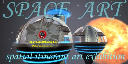 SpaceArt ad Art&Mente, Noumea