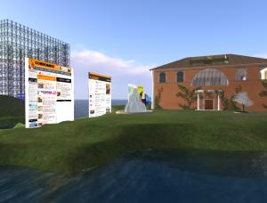Controradio in Second Life