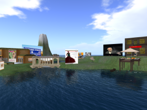Un lapsus in partenza per Firenze, immaginaria, in Second Life