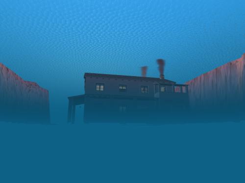 Alba subacquea in Second Life, a Rodasia 27/12/2010 (Advanced Water Editor, SNAKE!!!)