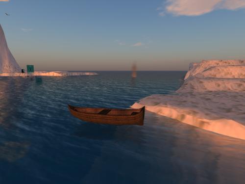 A Rodasia in barca