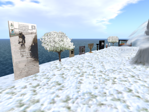 Rodasia, in Second Life. Shoah