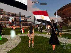 Egitto 2 Febbraio 2011, in Second Life