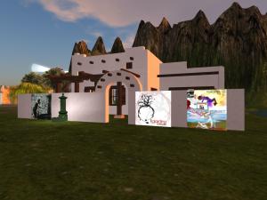 El pueblito, centro di aiuto, ascolto e dialogo, a Citta' Libera, in Second Life