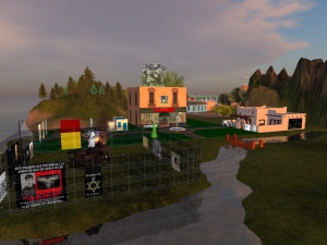Civitas Solis, a Enclave, in Second Life